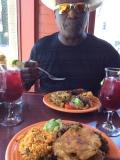 Grad lunch at El Coqui