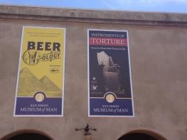 Beerology & Instruments of Torture exhibits