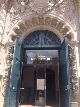 Entrance to Museum of Man