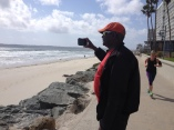 Windy day on Coronado Island