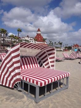 Ourdoor beach bed