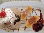 Brownie w/Coffee ice cream